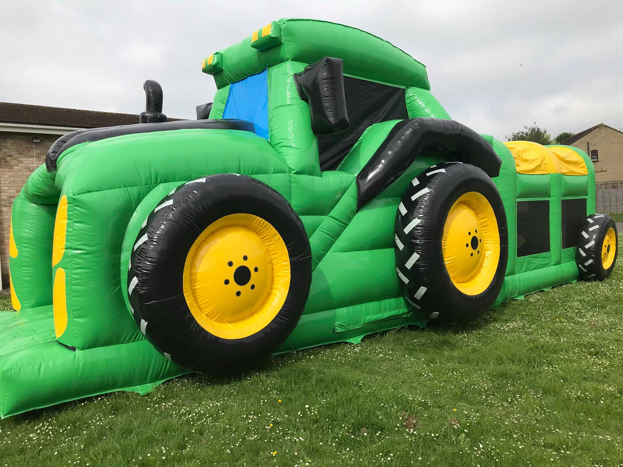 Tractor Assault Course