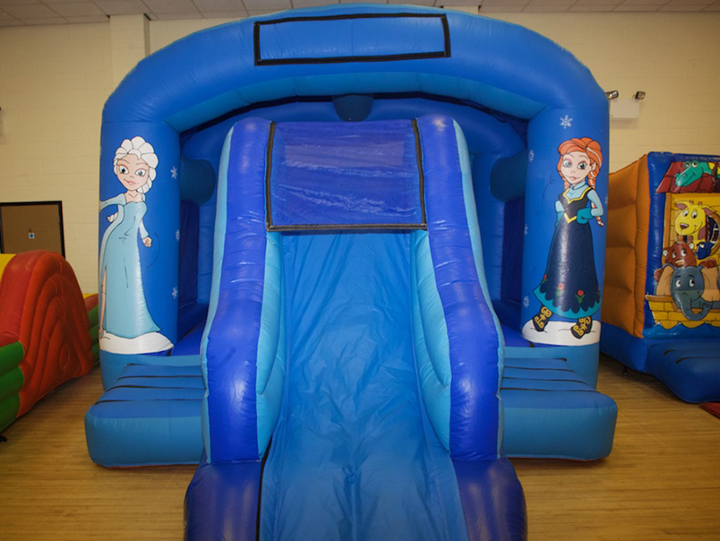 Frozen Bouncy Slide