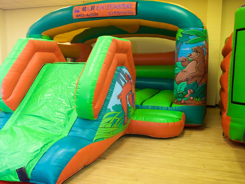 Jungle Castle Slide